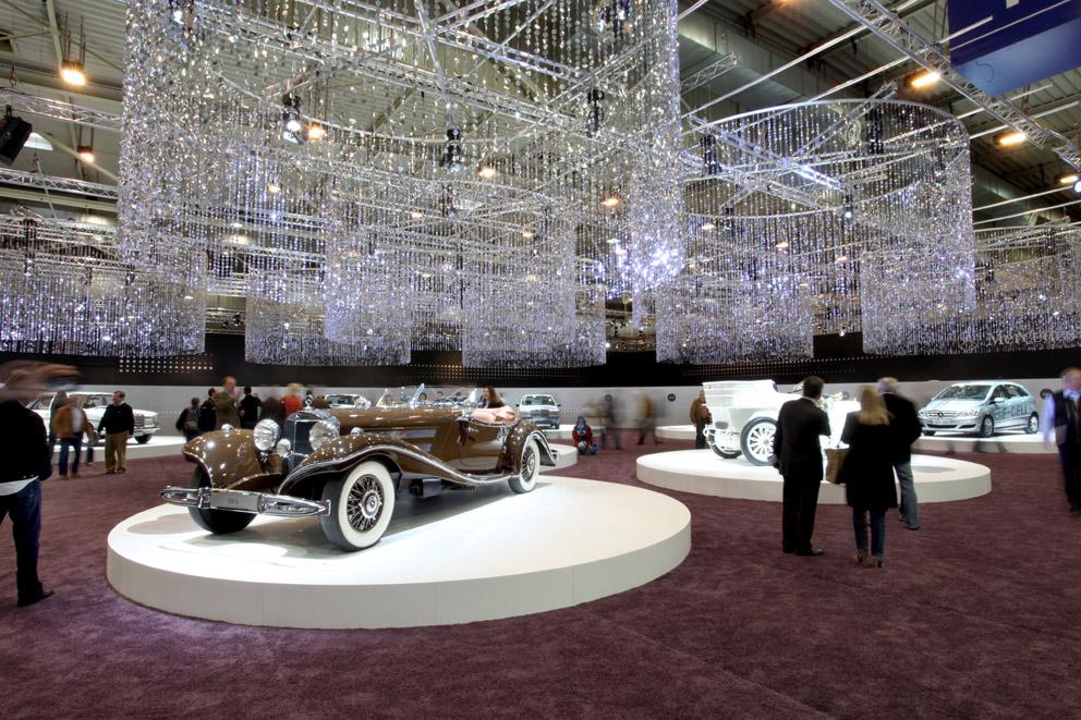 Mercedes stand at Essen car show