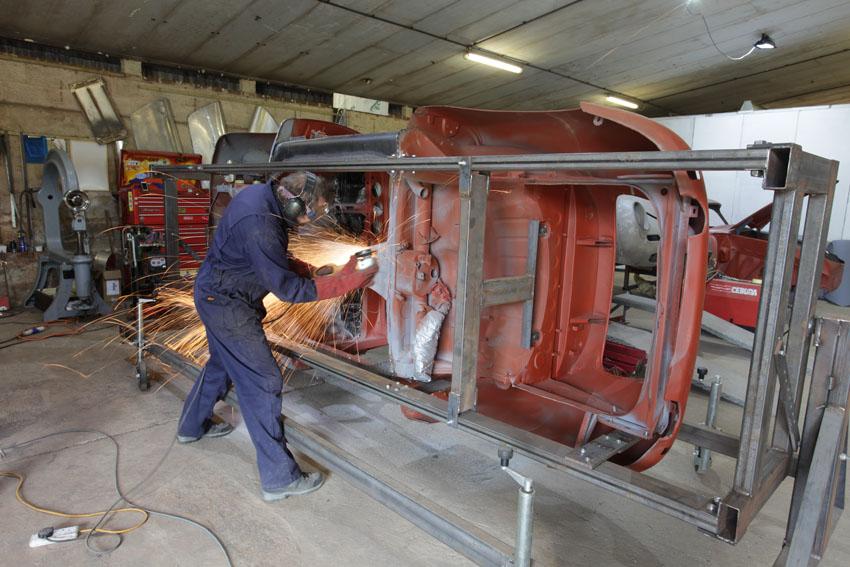 Porsche 356 restoration-2