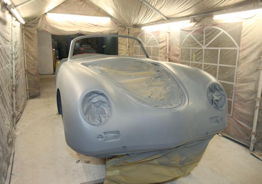 Porsche 356 restoration-4