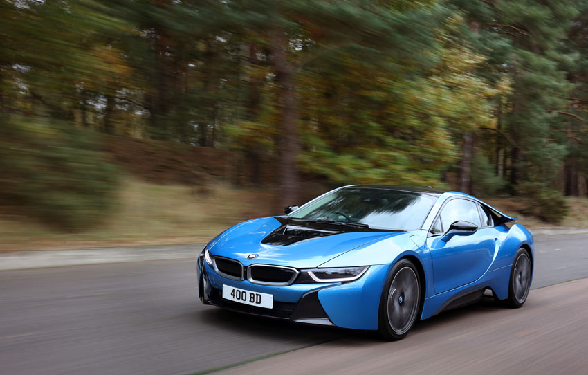 BMWi8 car to car