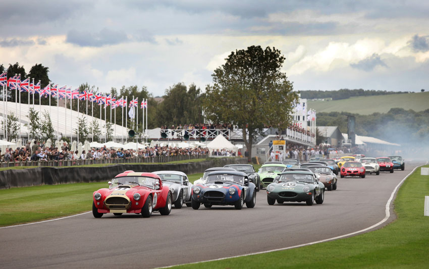 Goodwood start turn 1
